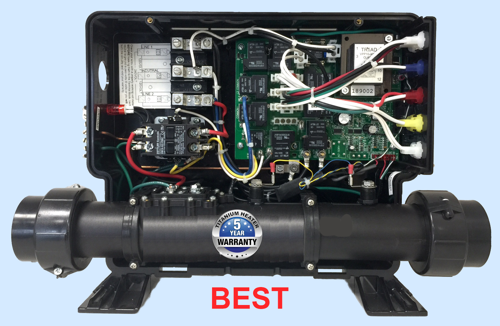 cosmoheat open warranty motor hot best spa hl balboa for tub direct usc control digital replacement controller minitrol a